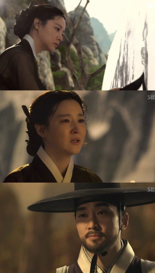 [Spoiler] Added episode 24 captures for the Korean drama 'Saimdang: Light's Diary'