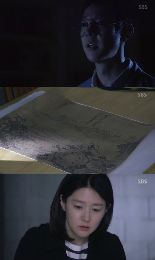"[Spoiler] ""Saimdang: Light's Diary"" Lee Young-ae has the real Geumkangsan in her hands"