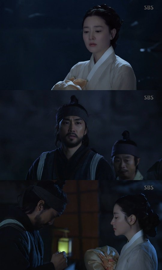 """[Spoiler] """"Saimdang: Light's Diary"""" Lee Young-ae and Song Seung-heon part as soon as they meet"""