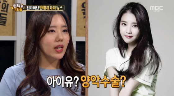 "IU's rumors about getting bimaxillary operation, ""Misinterpretation"""