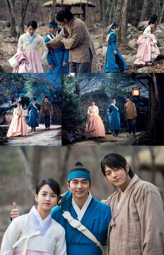 Yoo Seung-ho, Kim So-hyeon-I and L, three-person encounter