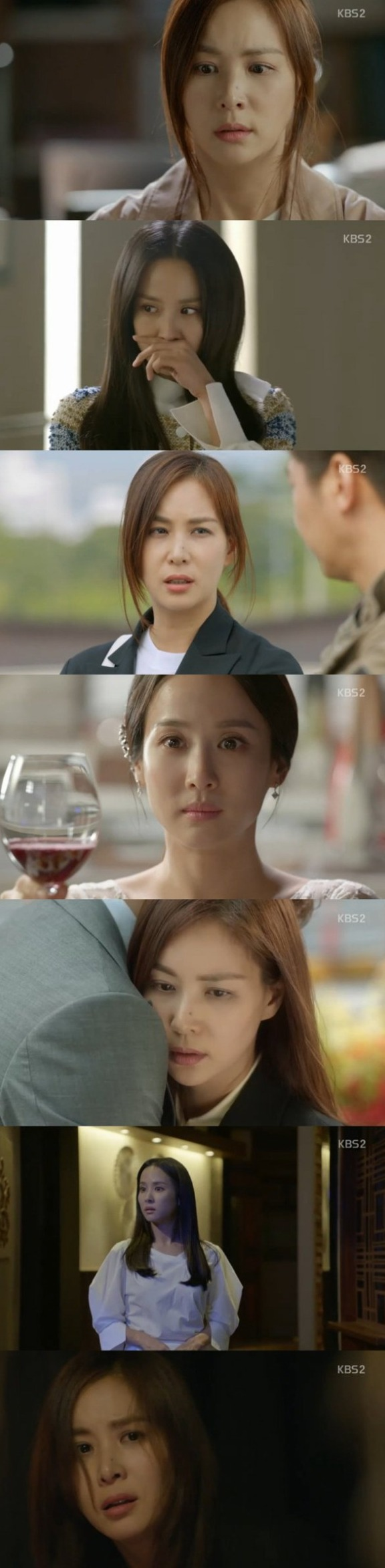 [Spoiler] Added finalepisode 20 captures for the Korean drama 'The Perfect Wife'