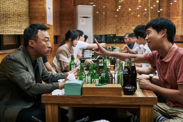 "[Videos + Photos] Added new videos and stills for the Korean movie ""The Sheriff In Town"""