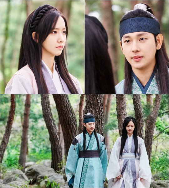 """The King Loves"" Si Wan and Yoona in the forest"