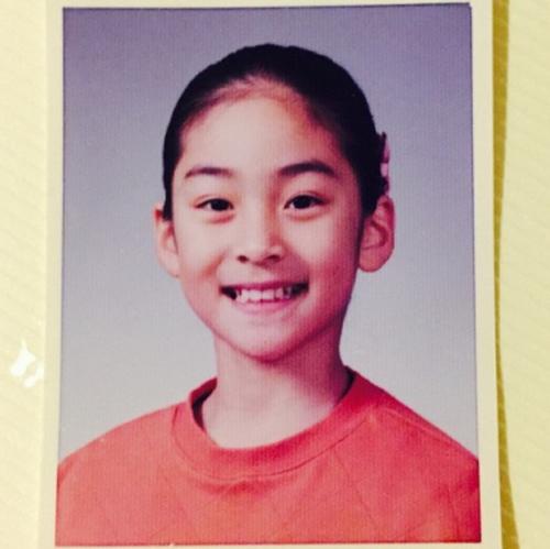 Wang Ji-won's picture when she was young