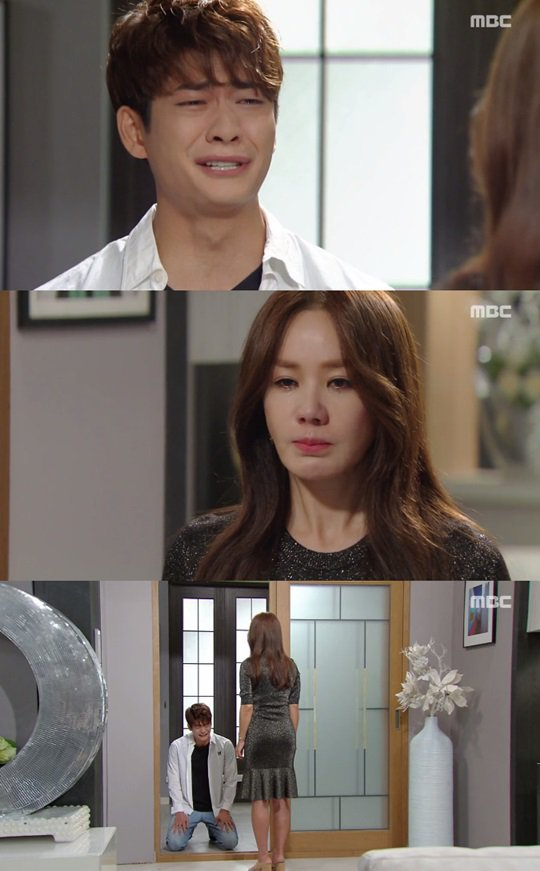 "[Spoiler] ""You're Too Much"" Kang Tae-oh cries to Uhm Jung-hwa"