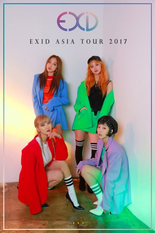 Girl Group EXID to Start Asian Tour Next Month