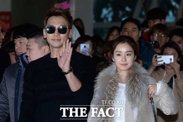 Rain and Kim Tae-hee 15 weeks pregnant