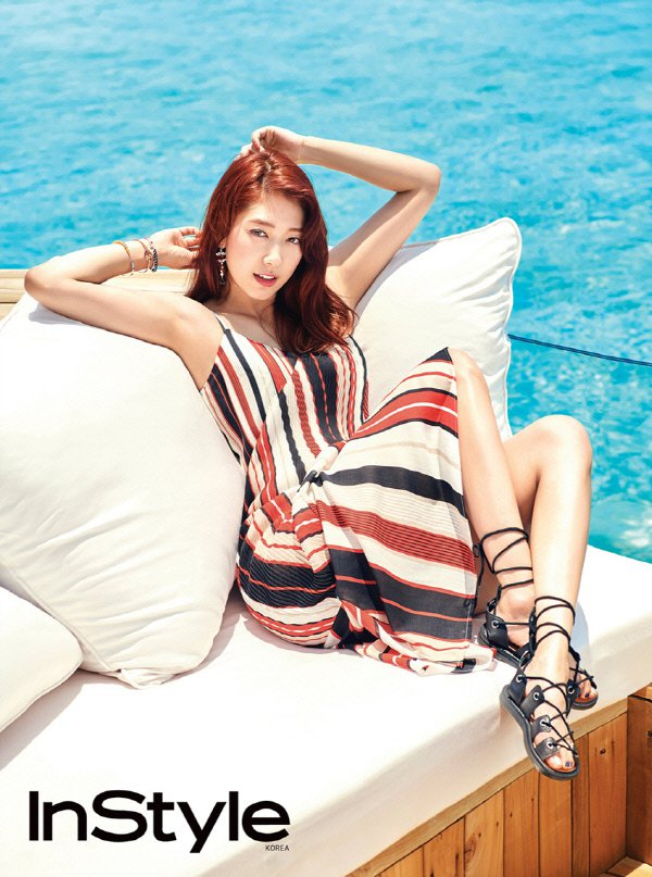 Park Shin-hye, looking sexy in Maldives