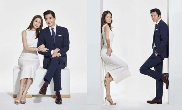 Kwon Sang-woo and Son Tae-yeong become married couple models