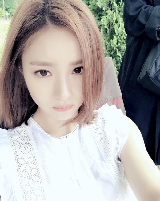 Sin Se-kyeong's short hair change