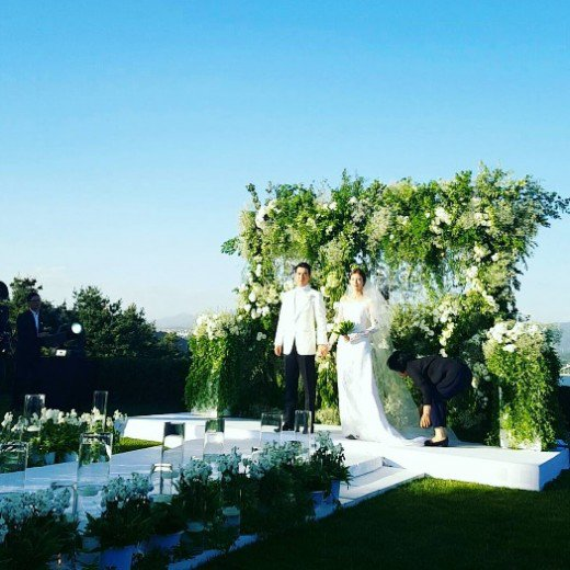 """It was perfectly beautiful"" Joo Sang-wook and Cha Ye-ryeon's wedding pictures"