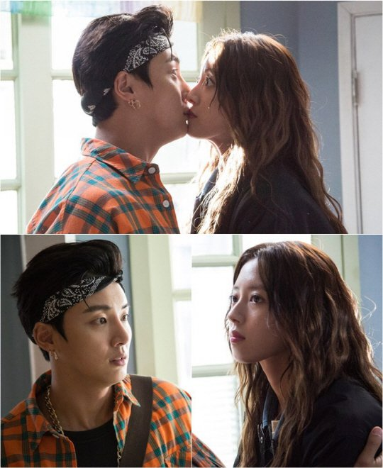"""The Big Blow"" Yoon Si-yoon and Lee Se-yeong kiss"