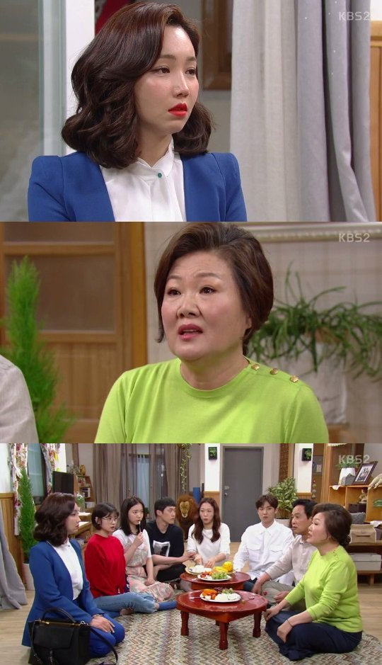 "[Spoiler] ""Father Is Strange"" Kim Hae-sook opposes of Lee Yu-ri and Ryoo Soo-yeong's marriage"