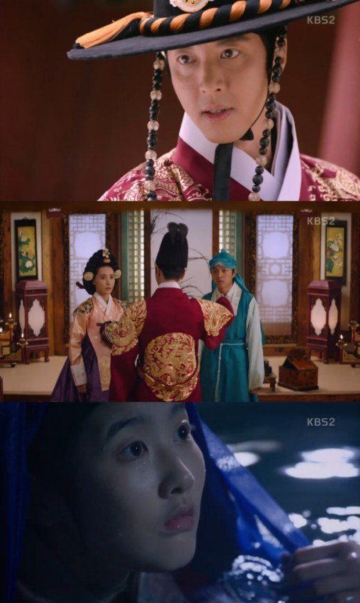 "[Spoiler] ""Queen for 7 Days"" Lee Dong-geon is a rampant, Park Si-eun-I and Baek Seung-hwan have two faces"