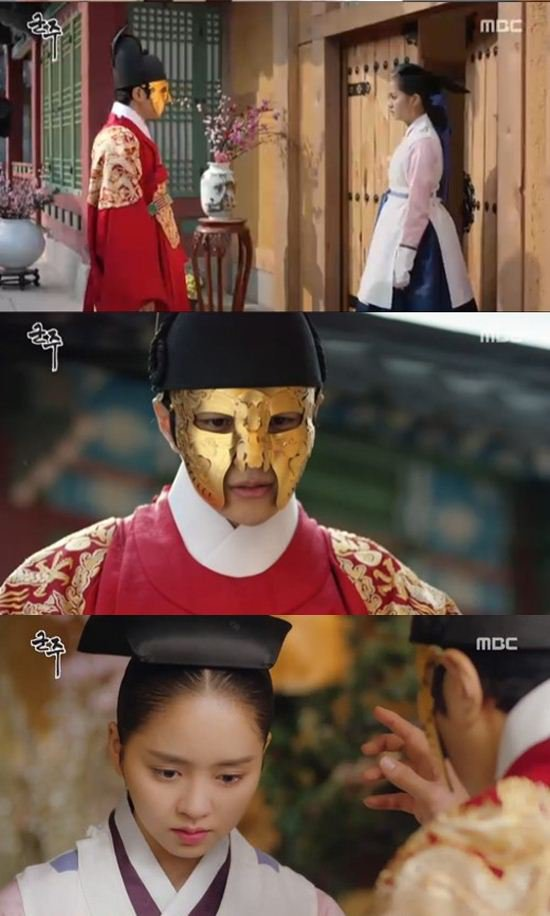 "[Spoiler] ""Ruler: Master of the Mask"" L reunites with Kim So-hyun, ""I don't know you"""