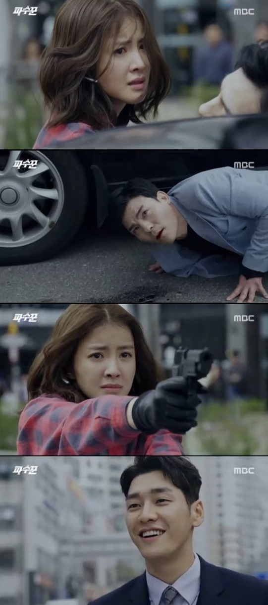 [Spoiler] Added episodes 7 and 8 captures for the Korean drama 'Lookout'