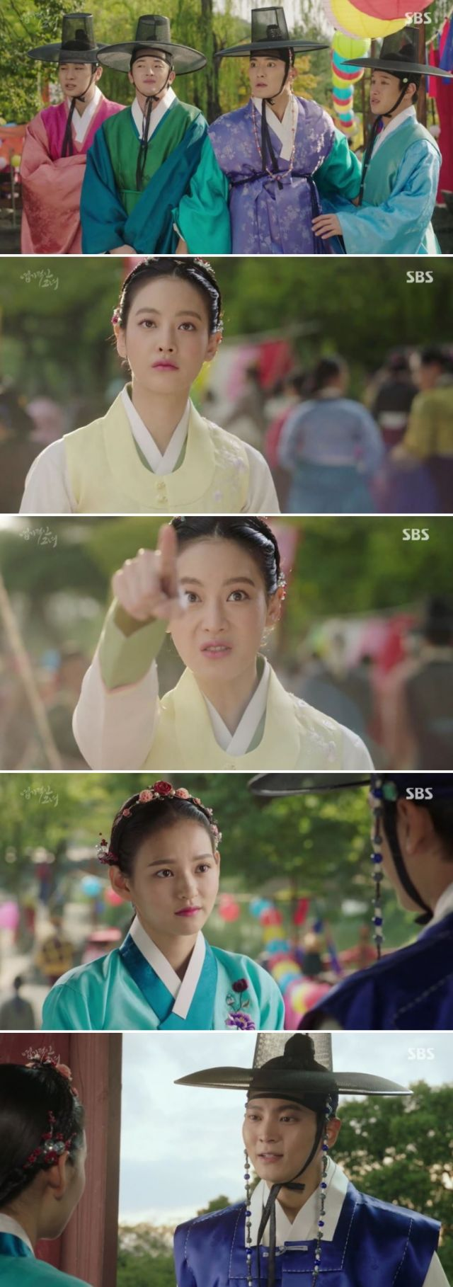 [Spoiler] Added episodes 5 and 6 captures for the Korean drama 'My Sassy Girl - Drama'