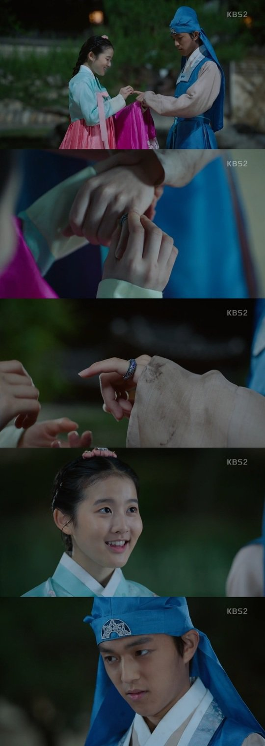"[Spoiler] ""Queen for 7 Days"" Park Si-eun-I presents Baek Seung-hwan with engagement ring"