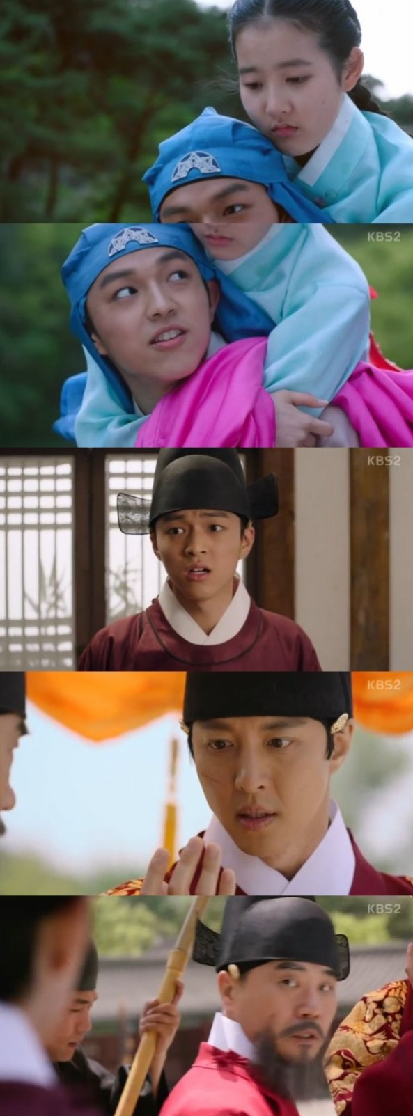 [Spoiler] Added episode 3 captures for the Korean drama 'Queen for 7 Days'