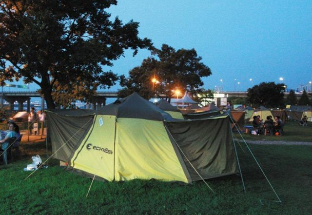 Summer Bookings for Han River Campsites Start