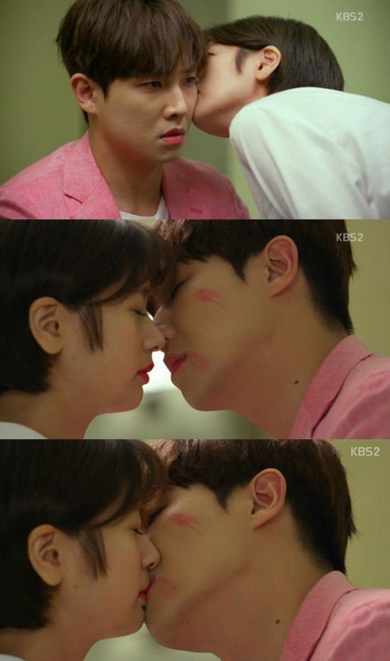 """[Spoiler] """"Father is Strange"""" Jung So-min kisses Lee Joon on the cheek"""