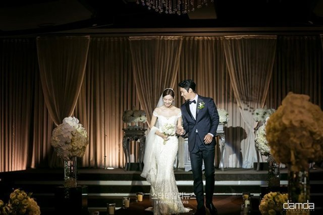Star Couple Tie the Knot