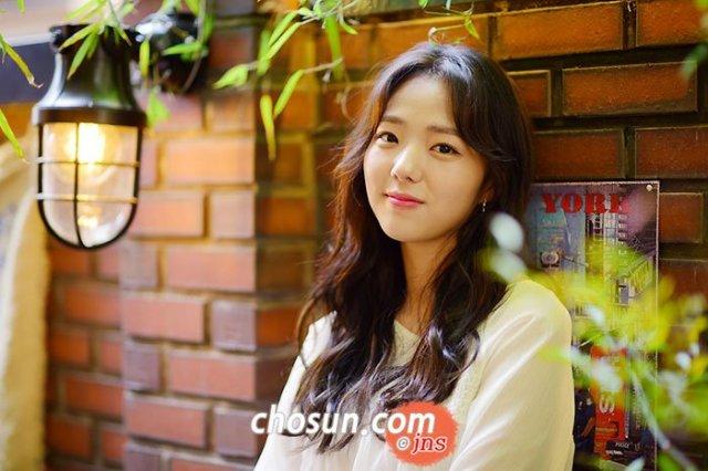 Actress Chae Soo-bin Catches Her Breath Between TV Series