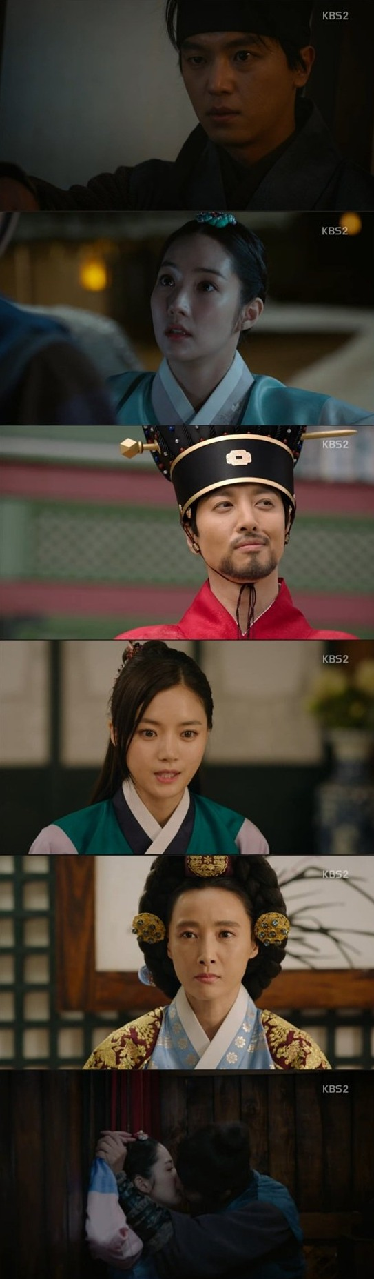 [Spoiler] Added episode 5 captures for the Korean drama 'Queen for 7 Days'