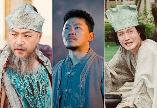 """""""Bride of the Water God 2017"""" Lee Kyeong-yeong, Yang Dong-geun and Jo Jung-chi"""
