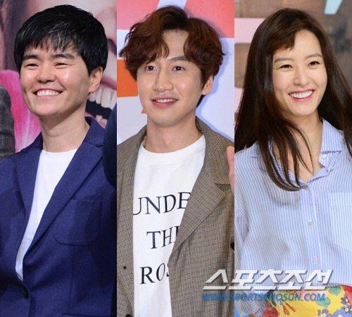 Noh Hee-kyeong, Lee Kwang-soo and Jung Yu-mi's