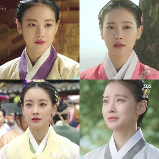"""My Sassy Girl – Drama"" Oh Yeon-seo's 4 different expressions"