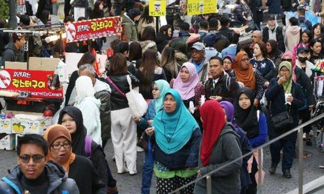 Mideast Tourists Now Biggest Spenders in Korea