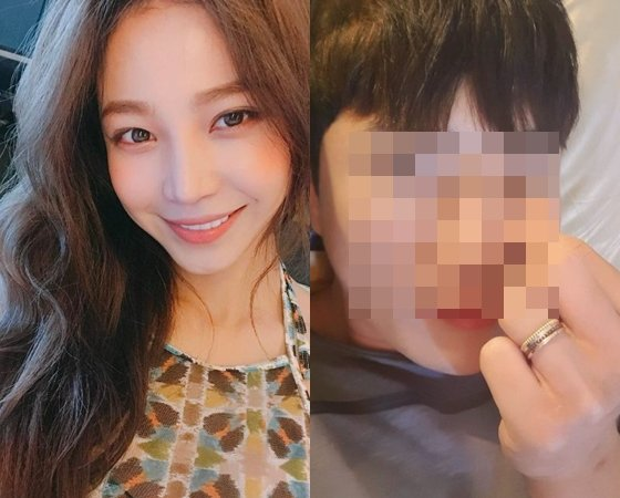 Actress Ji Ha-yun in a relationship with handsome guy