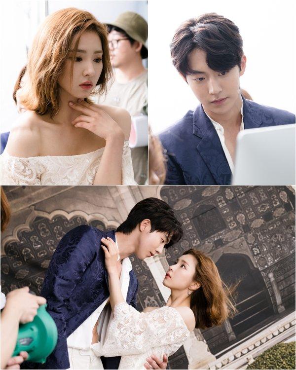 """""""Bride of the Water God 2017"""" Sin Se-kyeong and Nam Joo-hyuk"""