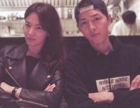 Song Joong-ki and Song Hye-kyo's fortune altogether