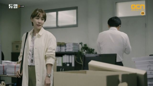 Jo-hye blackmailing the Chief Prosecutor