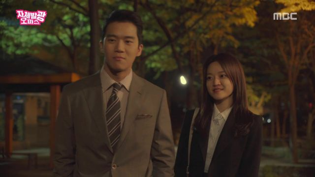 "[HanCinema's Drama Review] ""Radiant Office"" Episode 12"