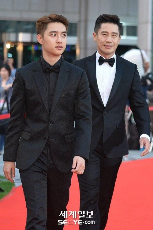 Doh Kyung-soo and Shin Ha-kyun at BIFF,
