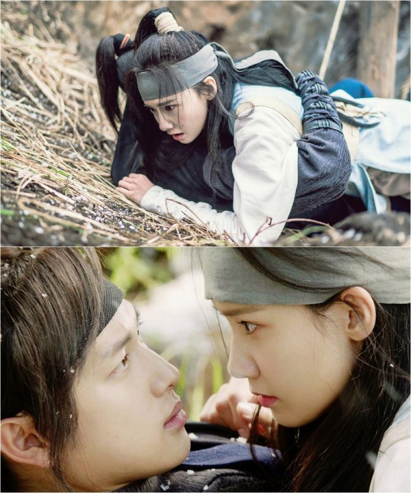 """The King Loves"" Im Si-wan and Yoona make eye contact"