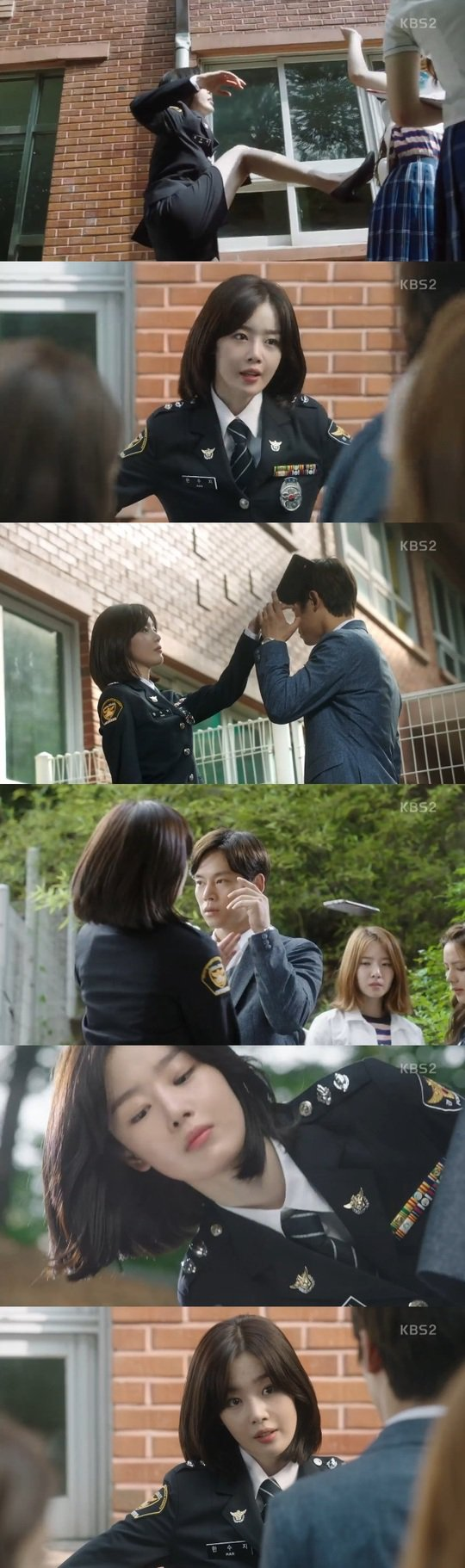 "[Spoiler] ""School 2017"" School policewoman Sunhwa kicks school bullies"