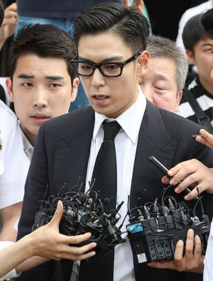 T.O.P. Given Suspended Sentence for Smoking Marijuana