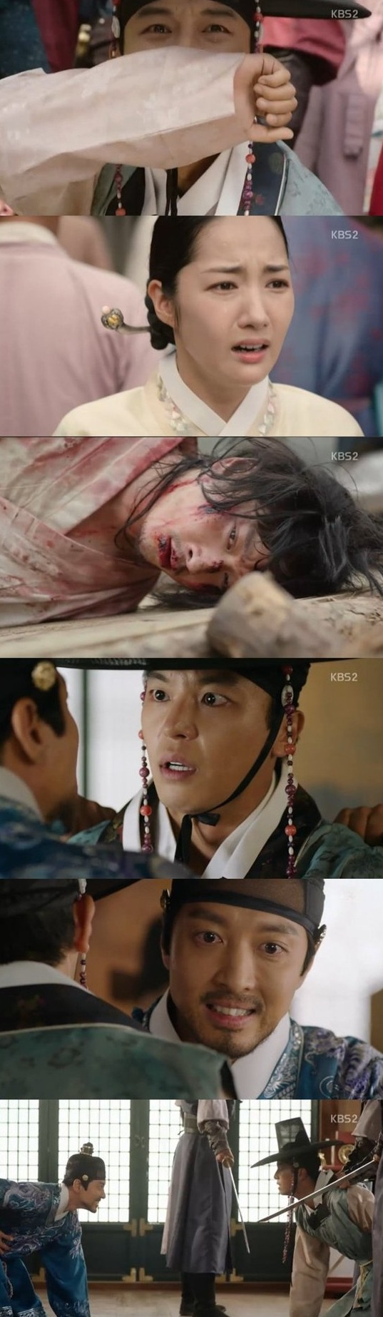 [Spoiler] Added episode 16 captures for the Korean drama 'Queen for 7 Days'