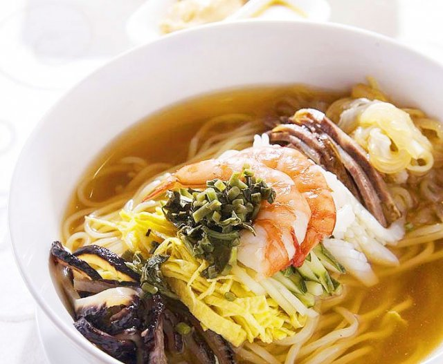 Korea's Refreshing Twist on Chinese Cold Noodles