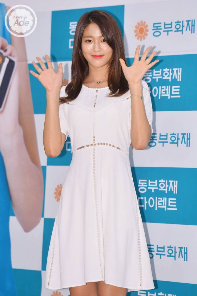 Seolhyun, Pure and Sexy White Dress Looks