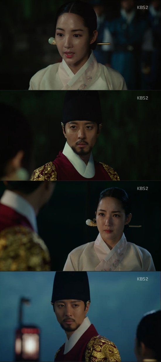 "[Spoiler] ""Queen for 7 Days"" Park Min-young wants to die with Lee Dong-gun"