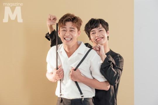 """Midnight Runners"" Park Seo-joon and Kang Ha-neul's Bromance!"