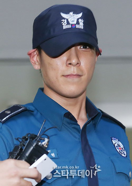 Big Bang T.O.P policeman status revoked