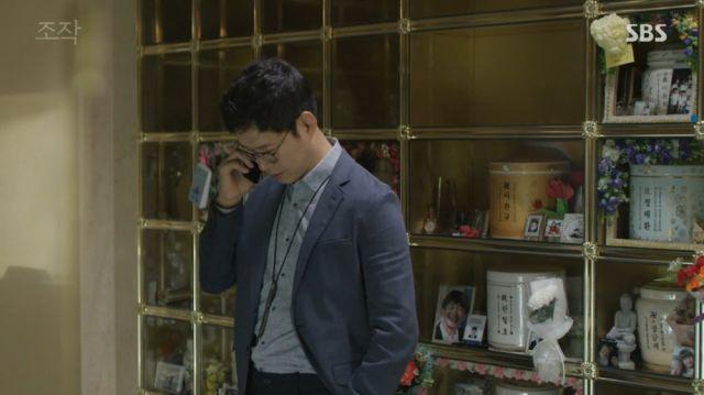 Seok-min reconsidering Cheol-ho's case