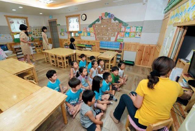 Preschoolers Spend More Time in Classes Than Playgrounds
